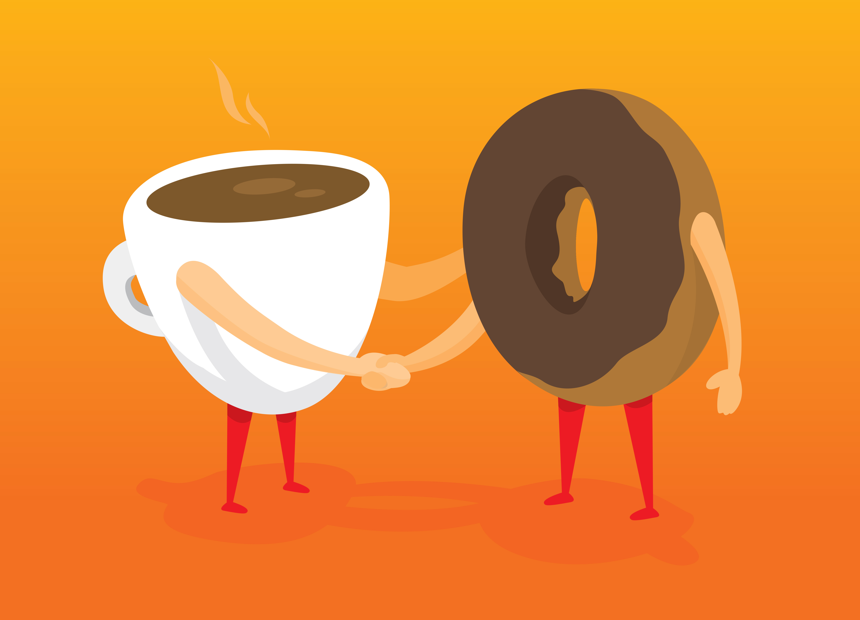 Stress et calorie danette vanille